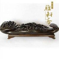 Rosewood crafts longevity peach Home Furnishing Ruyi feng shui ornaments xishangmeishao.