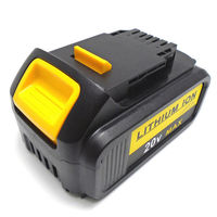 Abakoo For DeWalt 20V 6000mAh DCB200 MAX Rechargeable Power Tools Battery Replacement DCB181 DCB182 DCB204 DCB101 DCF885
