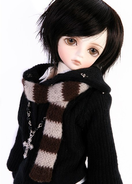 1/4 scale BJD lovely kid BJD/SD sweet cute boy LUTS CHERRY figure doll DIY Model Toys.Not included Clothes,shoes,wig oueneifs bjd clothe sd doll 1 4 clothes girl boy baby long hooded jumpsuit hyoma chuzzl send socks luts volks iplehouse switch