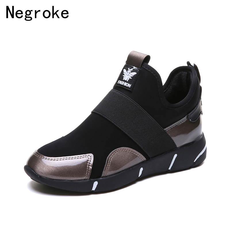 Women Trainers Sneakers 2019 New Basket Femme Flat Casual Shoes Woman Stretch Fabric Tenis Feminino Zapatos MujerWomen Trainers Sneakers 2019 New Basket Femme Flat Casual Shoes Woman Stretch Fabric Tenis Feminino Zapatos Mujer
