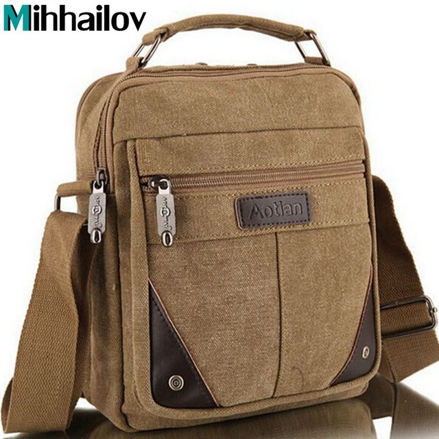 2017 men's travel bags cool Canvas bag fashion men messenger bags high quality brand bolsa feminina shoulder bags  B40-622