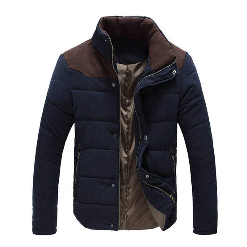 New Jacket <font><b>Men</b></font> 2017 Hot Sale Thick High Quality Autumn Winter Warm Outwear Brand Coat Casual Solid Male Windbreak Jackets M-3XL