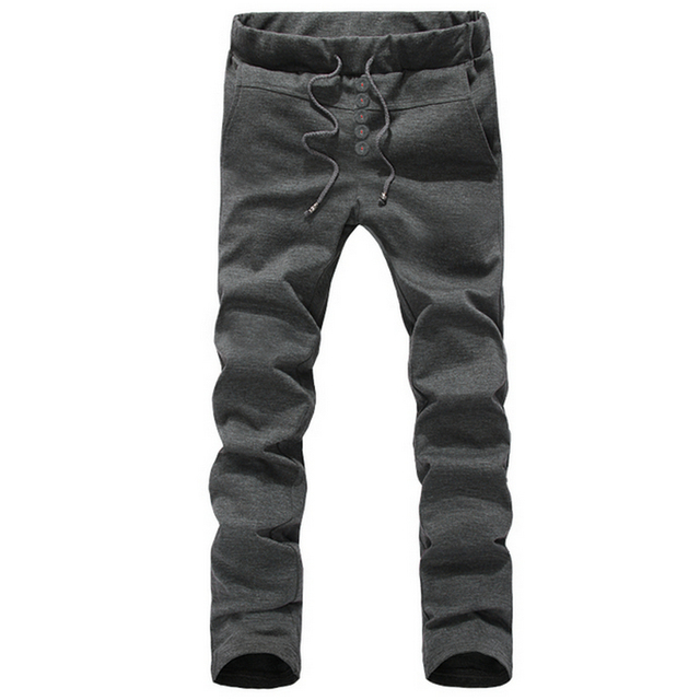 Joggers Pants Men 2016 Men's Sporto Harem Trousers Casual Hip Pop Style Street Wear Pant Pantalon Homme