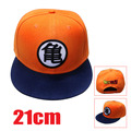 cartoon Dragon Ball Z son Goku Orange summer baseball hat cospaly anime fashion Hip Hop hat Adjustable snapback caps