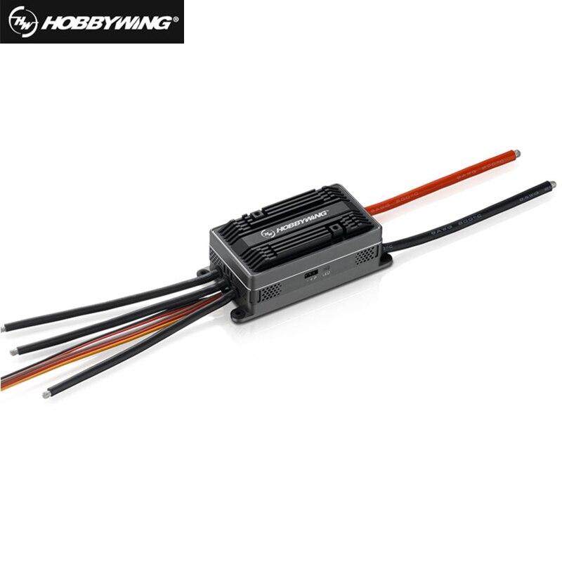 Original Hobbywing Platinum HV 200A V4 1 6 14S Lipo SBEC OPTO Brushless ESC for RC