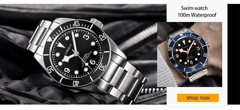 HTB1jmIboXGWBuNjy0Fbq6z4sXXad Corgeut 17 Jewels Mechanical Hand Winding Watch Seagull 3600 Movement 6497 Fashion Leather Sport Luminous Man Luxury Brand Watch
