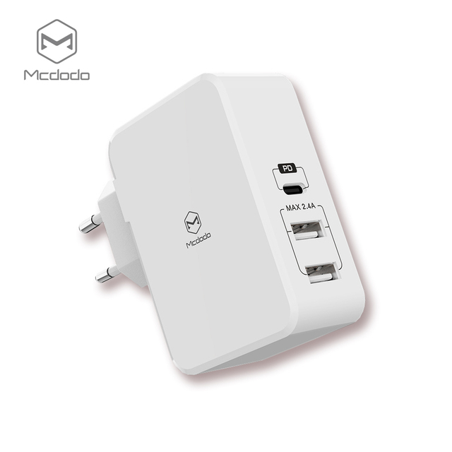 timeless design b0619 b1b94 US $20.24 19% OFF Mcdodo USB PD 29W Quick Charger for iPhone X 8 Plus Type  c usb c Charge Fast Charging Dual USB Charger for Samsung Xiaomi Huawei-in  ...