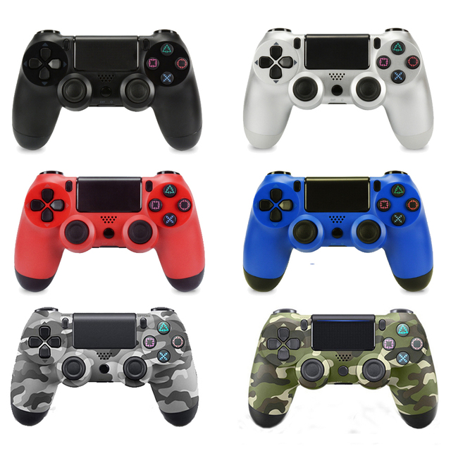 For PS4 Controller Bluetooth Wireless Gamepad For Sony PlayStation 4 Dual Shock 4 Vibration Joystick Gamepads For PS4 PS3 PC