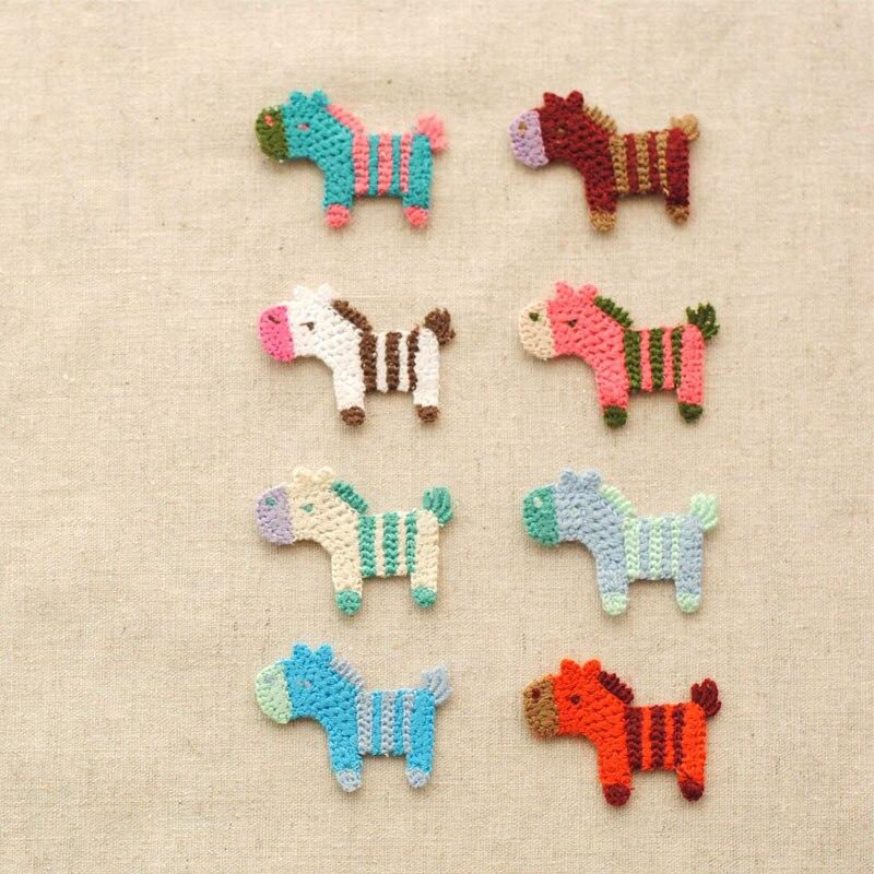 Φ_Φ¡ CALIENTE!! lana de la mano kniting Encantadora Caballo coser ...