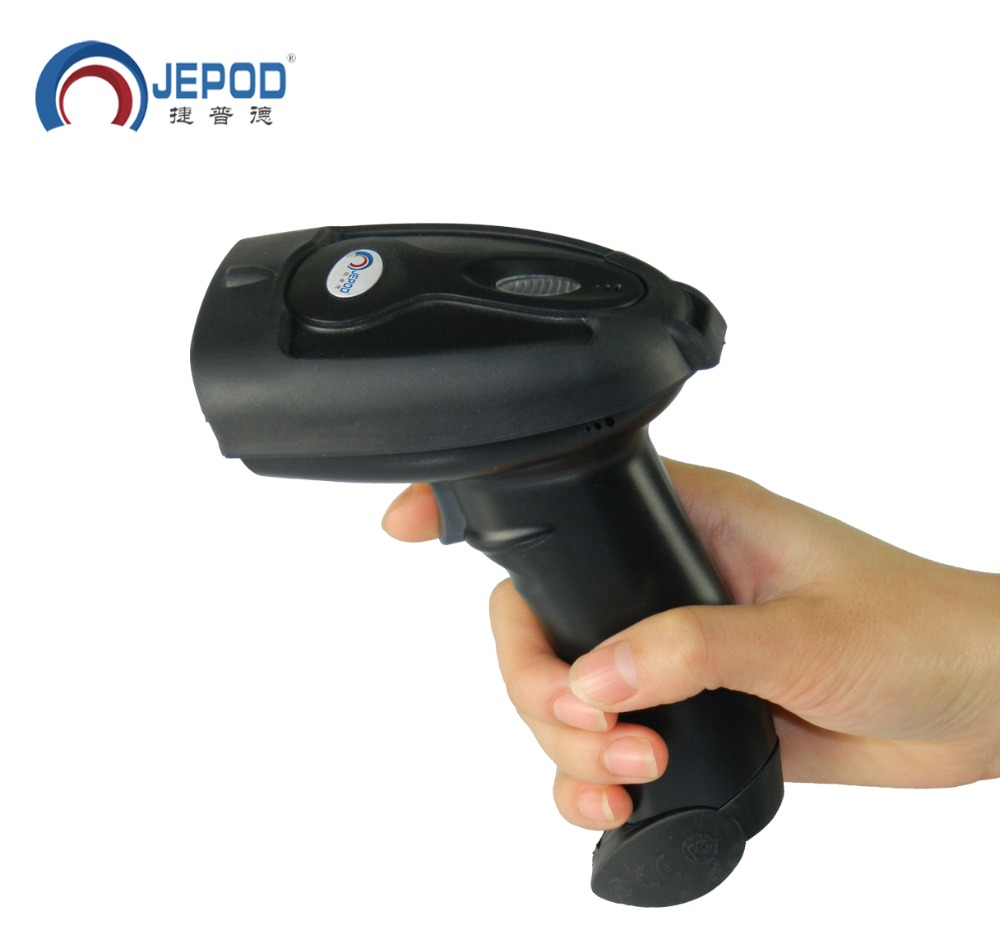 JP-B2Y  Wireless Bluetooth Barcode Scanner Free Shipping! Bluetooth USB Laser Bar Code reader support for IOS Android Windows