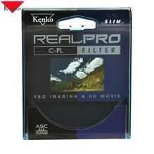 KENKO 77mm REALPRO CPL CIR-PL Slim Ring Polarizer Filter Lens Protector Free Shipping For Canon Nikon 24-105 24-70 70-200 17-55