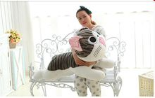 super huge lovely Cheese cat toy plush big round eyes Cheese cat doll gift about 120cm