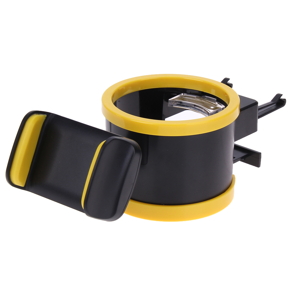 Car interior air quality - Universal Car Interior Drink Holder Car Air Vent Mount Phone Holder Drinking Bottle Coffee Cup Mount Stand Holder Accessories