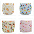 Baby Newborn Diaper Reusable Nappies Training Pant Children Cloth Diapers Washable Diapers Waterproof Diapers Ajustable