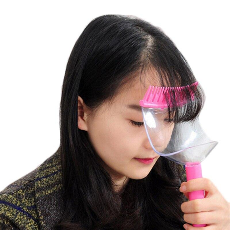 pcs herramienta de peinado del cabello peines corte flequillo flequillo de la plantilla herramienta tijera
