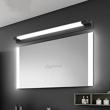 New LED Mirror Light 46 66cm 7W/14W AC110 240V Waterproof Modern Cosmetic Acrylic Wall Lamp For Bathroom Light
