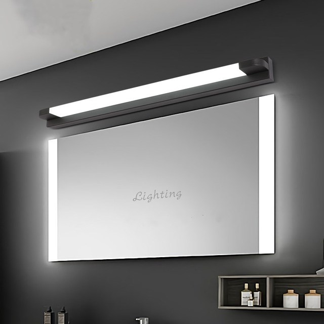 New LED Mirror Light 46 66cm 7W/14W AC110 240V Waterproof Modern Cosmetic Acrylic Wall Lamp For Bathroom Light