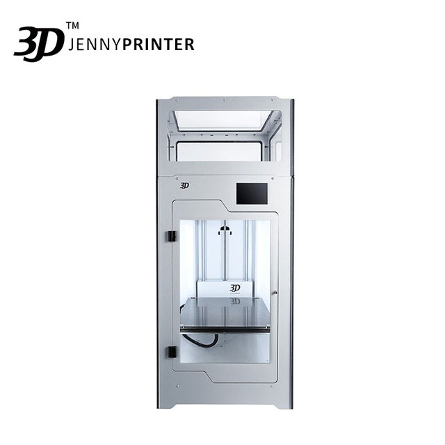 2019 Newest! JennyPrinter4 Z370 Dual Extruder With Touch Screen Auto Level  FDM 3D Printer DIY KIT For Ultimaker 2 UM2+ Extended