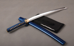 Japanese Samurai Using Sword Wakizashi High Carbon Steel Full Tang Sword Battle Ready Japanese Knife Samurai Cosplay Knife