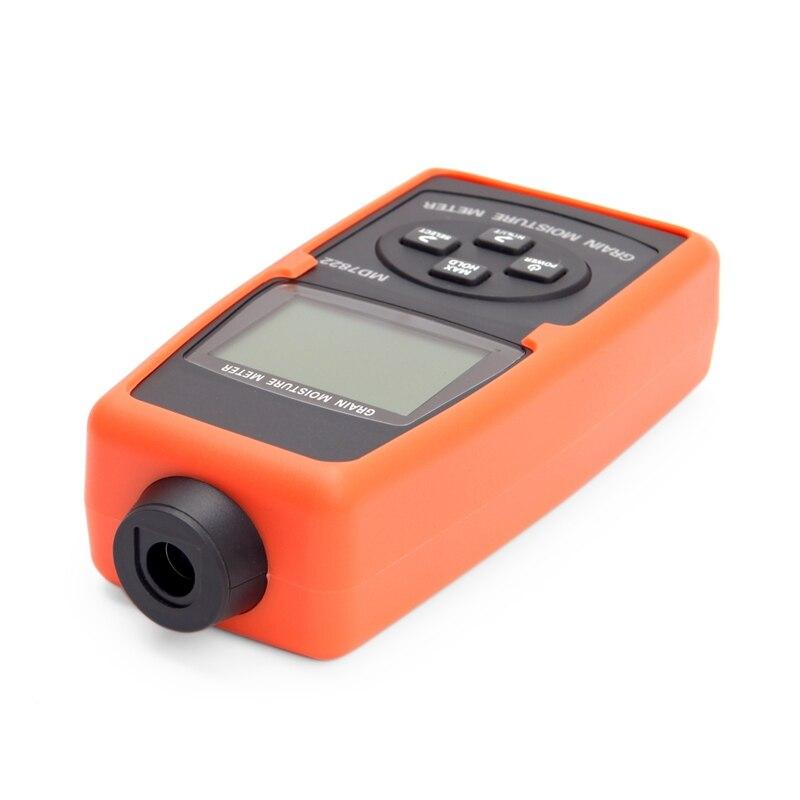 Medidor de humedad de grano digital 2% ~ 30% portátil de humedad de grano medidor de luz de fondo con LCD contiene trigo maíz arroz herramientas para la humedad - 5