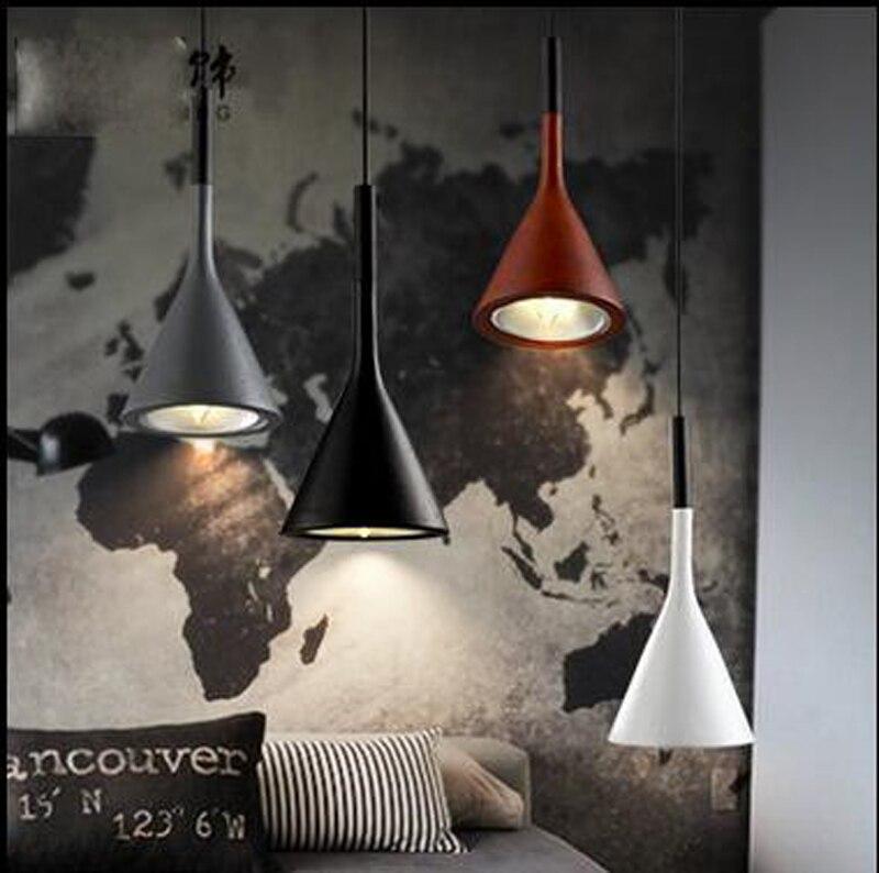 цена на Nordic Simple Dining Room Light LED E14 bulb Fashion Lamps For Living Room Bar Balcony Aisle Corridor