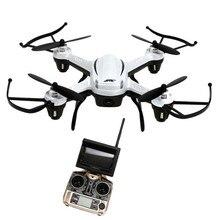 Cahaya berat badan pesawat dengan daya tahan yang bagus H32GH 5.8 GHz FPV Udara 6 Axis 4CH Quadcopter RTF 2.4Gh CF Kamera 2MP Drone