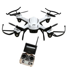 Gentle weight airframe with good sturdiness H32GH 5.8Ghz FPV 2.4Gh CF Aerial 6Axis 4CH Quadcopter RTF 2MP Digicam Drone