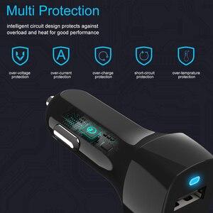 Image 4 - SeenDa Universale Caricabatteria Da Auto con Cavo Del Cellulare USB Fast Charger Per Samsung S9 S8 Più S6 S7 Bordo Plus Per iPhone 6 6 s 7 8