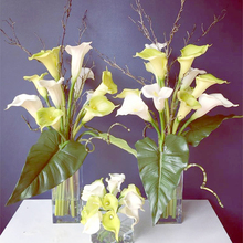 Artificial Flower Calla lily Real Touch PU Hand Feel Flores Artificiais For Wedding Decoration Home Party decor fleurs Big Size
