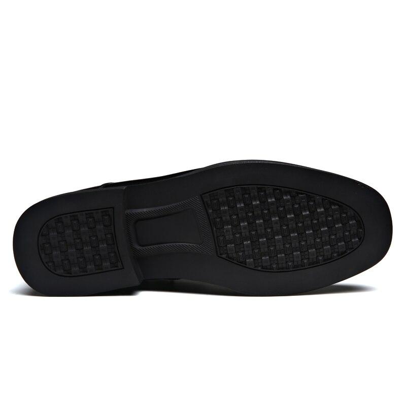 新マン革雪のブーツ冬高品質ソフトレザーの靴ウールインナーブーツ 38 44 男ジッパー雪のブーツ  グループ上の 靴 からの 雪用ブーツ の中 3