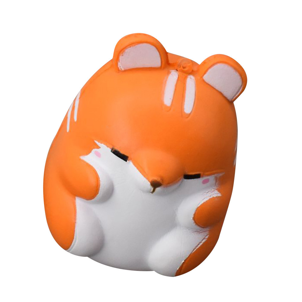 Kawaii Squishies Slow Rising Jumbo Hamster Squishy Animals Foam Squish Antistress Toy 20S8319