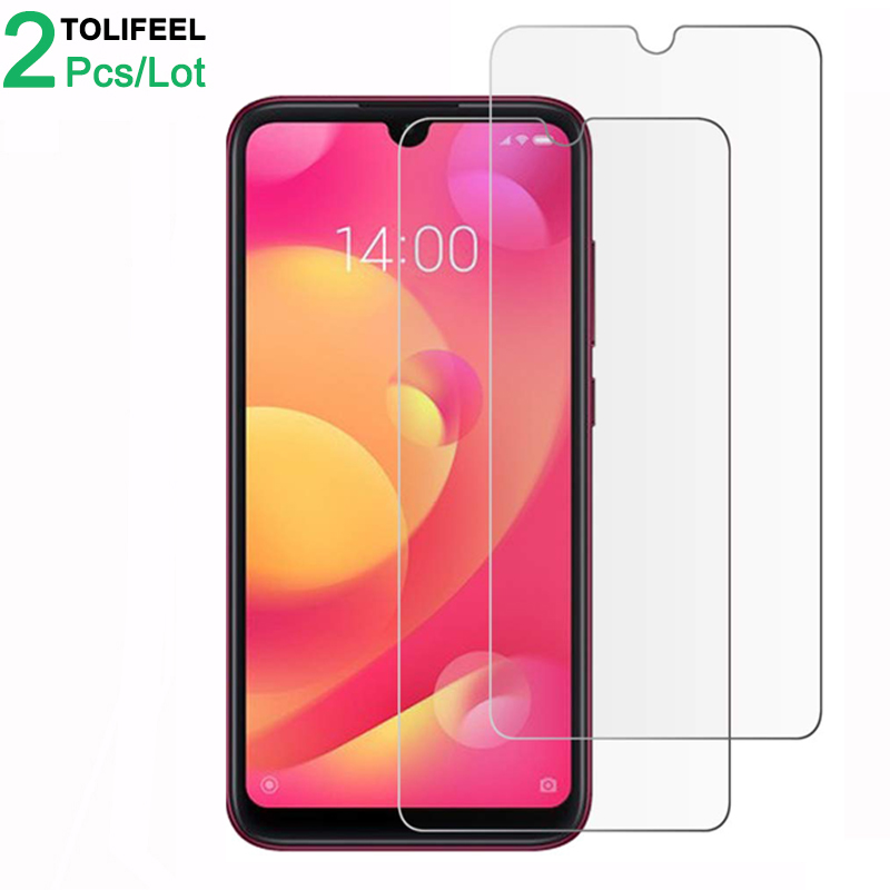 2Pcs Tempered Glass For Xiaomi Mi Play Screen Protector 9H 2.5D Phone On Film Protective Glass For Xiaomi Mi Play Glass