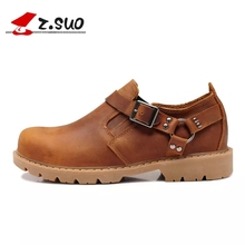 Размеры 39–44 Для мужчин рабочие ботинки чёрный; коричневый ковбойские ботинки Пояса из натуральной кожи мужские полусапоги мужской обуви D30
