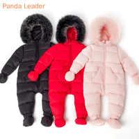 Одежда для малышей Зимний пуховик для девочек, детский комбинезон, Комбинезоны для детей, Детский комбинезон, лыжный костюм зимний комбинез...