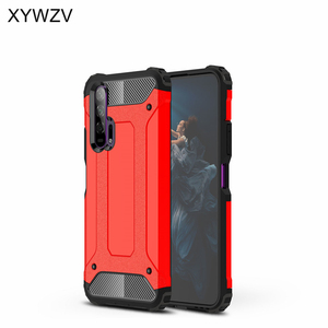 Image 2 - For Huawei Honor 20 Pro Case Soft TPU Silicone Armor Rubber Hard PC Phone Case For Huawei Honor 20 Pro Cover For Honor 20 Pro