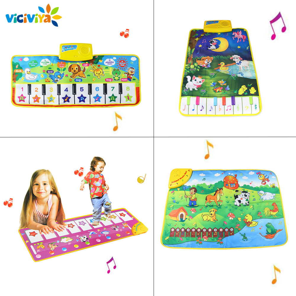Baby Music Carpet Baby Musical Mat Children Educational Carpets Babe Infant Piano Music Play Mats Games Playmat for Kids learning carpets us map carpet lc 201