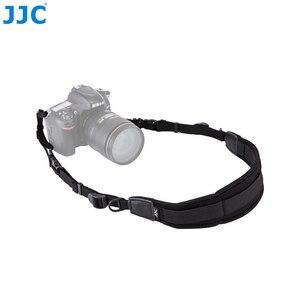 Image 3 - JJC DSLR Neoprene Dây Đeo Cổ Phát Hành Nhanh Camera Vai Cho Canon 1300D/Sony A6000/Nikon D5300/D3200/D750 Nhanh Chóng Camera Dây Đeo