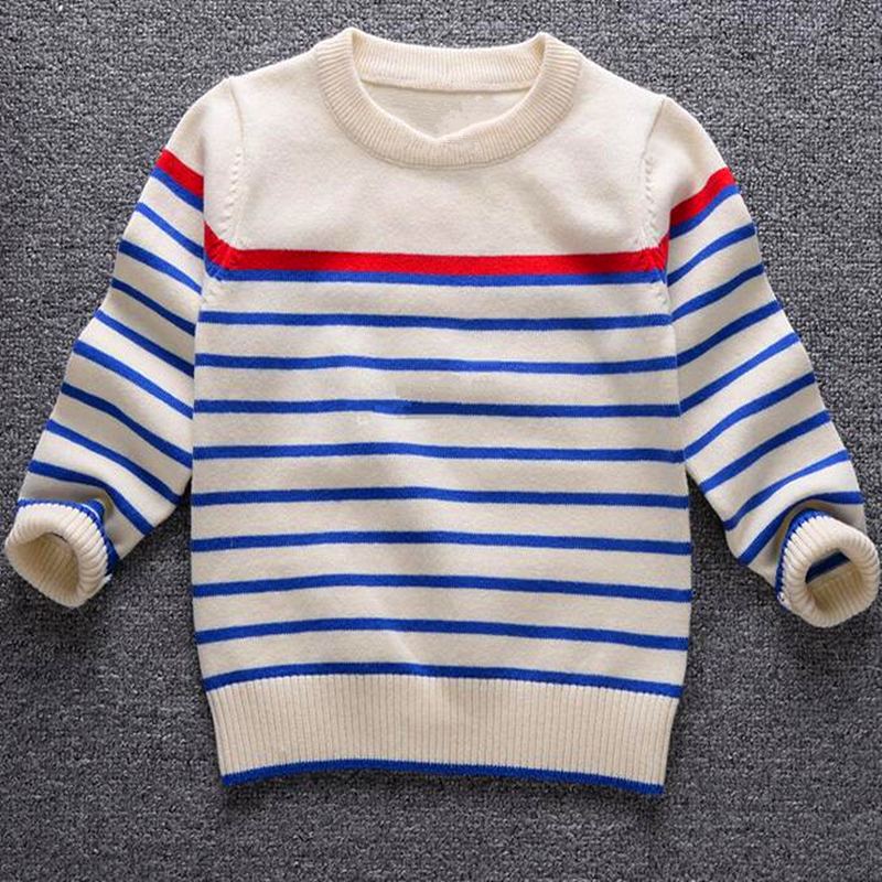 Anlencool high-quality baby sweater childrens sweater clearance to promote baby striped sweater wecotton turtleneck sweater