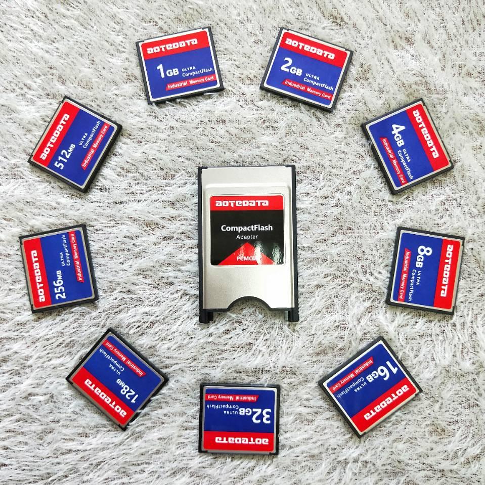 L Flash Compact industriel de vente en gros CF 256MB 512MB 1GB 2GB carte mémoire pour la machine de publicité de centre de CNC industrielle