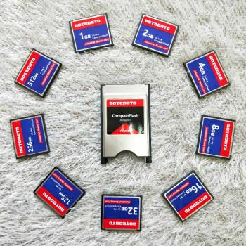 wholesale sale Industrial Compact Flash CF 256MB 512MB 1GB 2GB  Memory Card FOR CNC center Advertising machine industrial