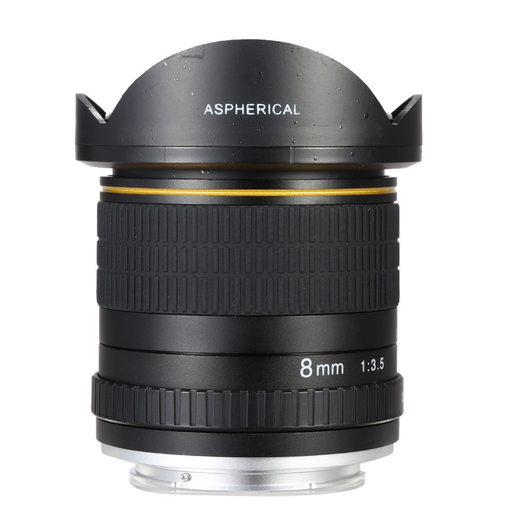8mm F/3.5 Ultra Wide Angle Fisheye Lens for Canon DSLR Cameras 10D 760D 750D 700D 750D 600D 70D 60D 5D II III 6D 7D 2