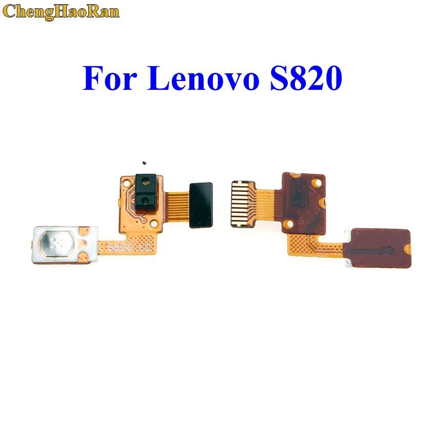 ChengHaoRan For Lenovo S820 New Power On/Off Button Flex Cable FPC Sensor Flex Cable