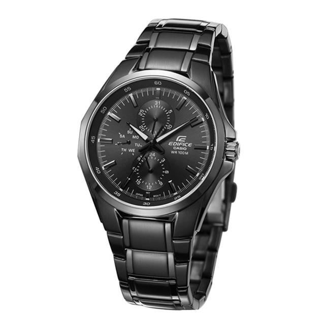 4ada13dc4c4 Casio watch New Top Luxury Watch Men Brand Men s Watches Stainless Steel  Mesh Band Quartz Wristwatch Fashion casual EF-339BK-1A9