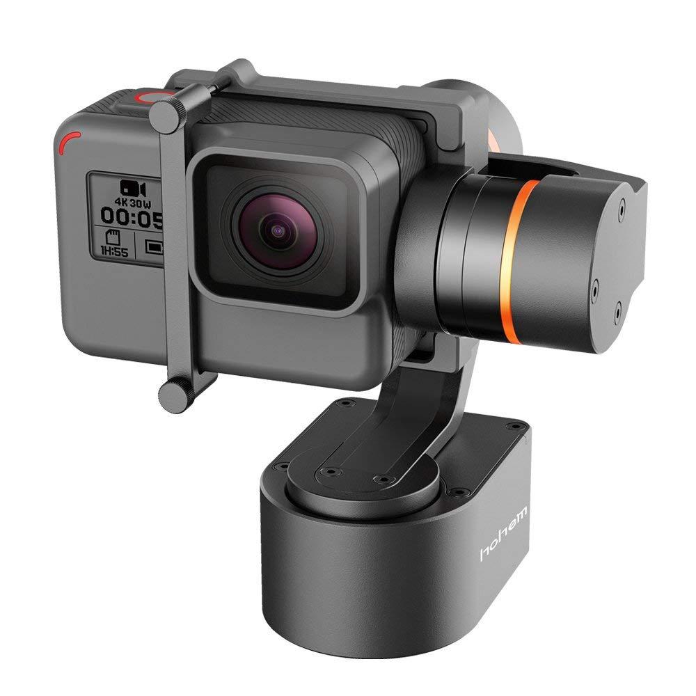 Hohem XG1 3-axe Portable Cardan Stabilisateur APP Bluetooth Cantrol Compatible GoPro Hero 6 5 4 3 Yi CAM SJCAM Action Caméra
