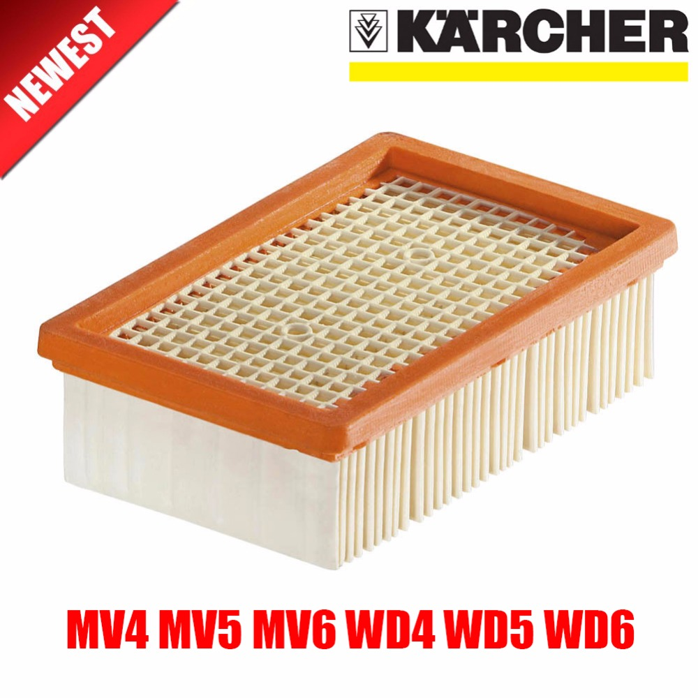 KARCHER  Filter For KARCHER MV4 MV5 MV6 WD4 WD5 WD6 Wet&dry Vacuum Cleaner Replacement Parts#2.863-005.0 Hepa Filters