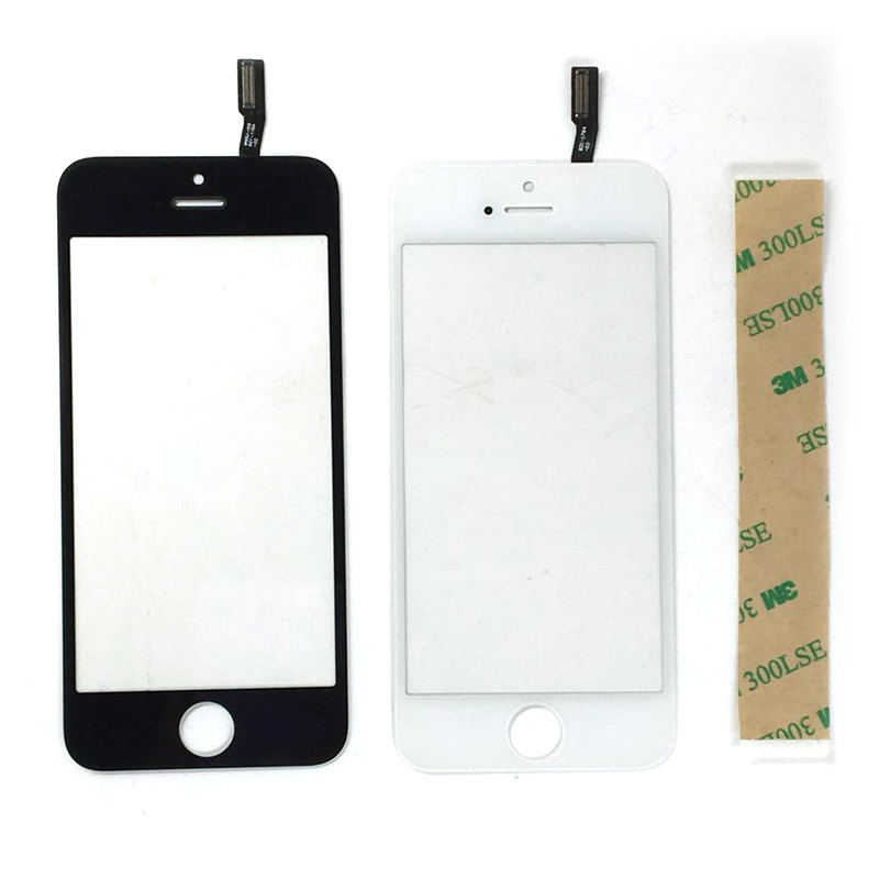 Touchscreen Panel Glass For Iphone 4 4s 5g 5S Touch Screen Sensor Digitizer LCD Display Lens For Iphone 6 Replacement Parts