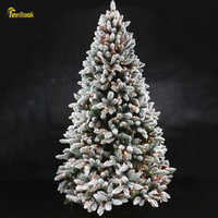 Teellook cadeau nouvel an flocage arbre de noël flocon de neige arbre de noël famille hôtel centre commercial décoration