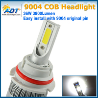 9004 HI LOW BEAM LED Car Headlight C6 Headlamp Light H4 H13 9007 6000K 72W 7600LM