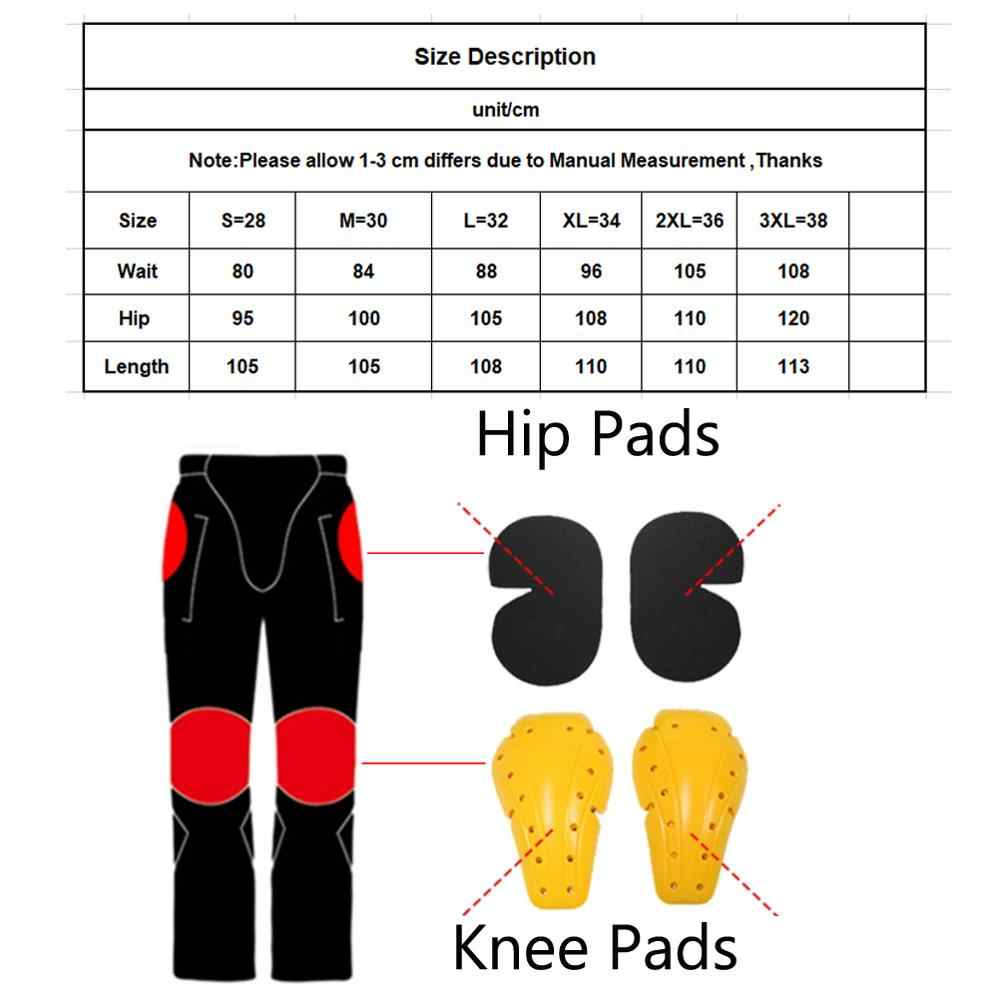 2019 New Motorcycle Riding Pants Denim Jeans With 4 X Knee Hip Armor Pads for Men Women Biker Protective Pants Pantalones Blue
