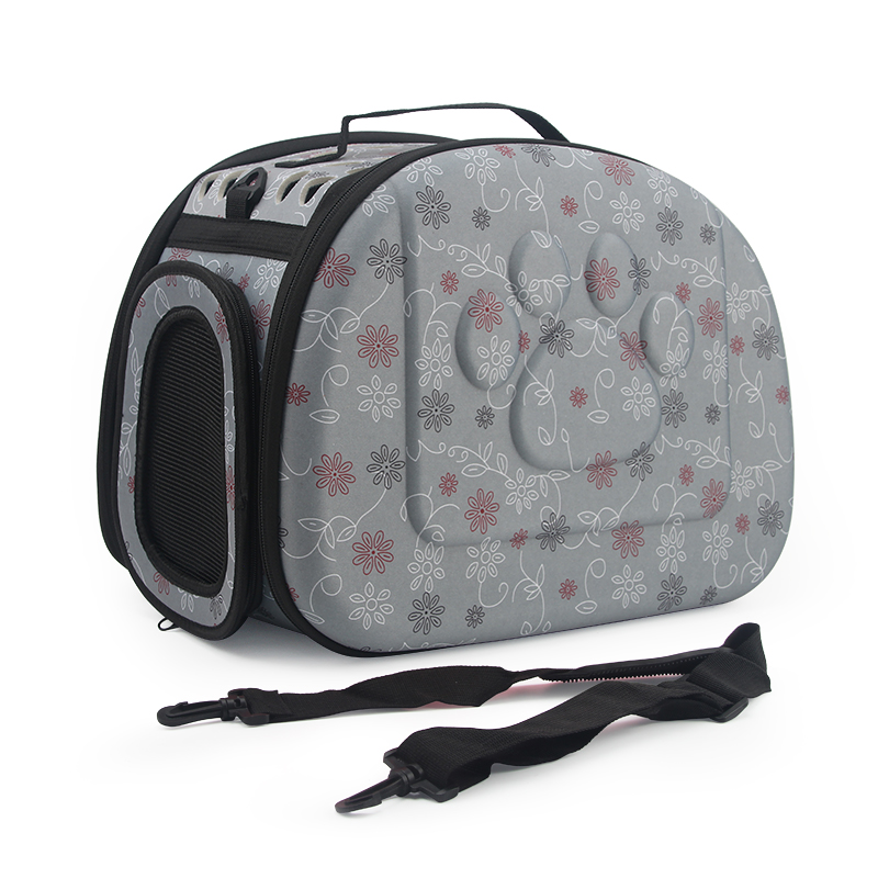 Image 4 - Dog Carrier Bag Portable Cats Handbag Foldable Travel Pet Bag Puppy Carrying Mesh Shoulder Pet Bags S/M/Lportable petcat carriercat carrier travel -